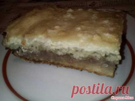 Ленивый творожно-яблочный торт - Страна Мам