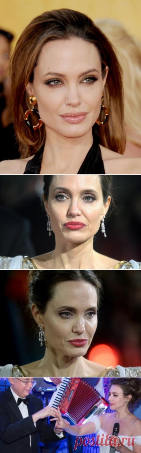 Все ее трещинки: как на самом деле выглядит вблизи Анджелина Джоли | Мир вокруг женщин
