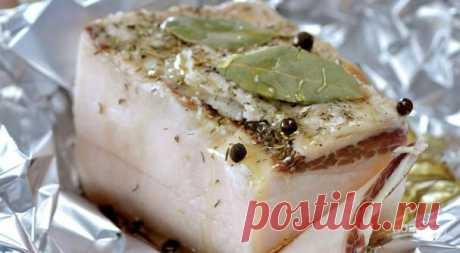 """Маринованное сало """"Вкусное"""" - пошаговый рецепт с фото на Повар.ру"""
