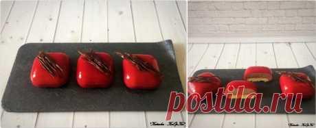 Пирожные с земляникой и малиновой глазурью: katusha_2109 — ЖЖ