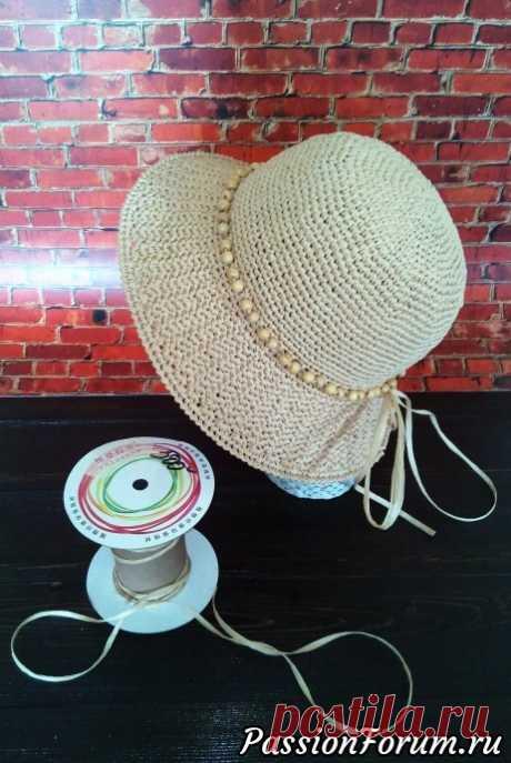 Шляпа на лето. - запись пользователя Aristata в сообществе Вязание крючком в категории Вязаные крючком аксессуары