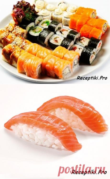 Чем отличаются суши от роллов? - быстро, вкусно и просто