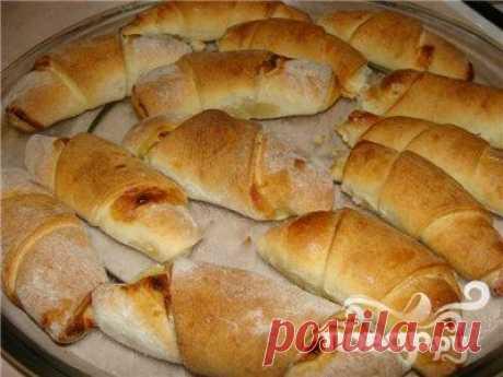 Круассаны на кефире - пошаговый рецепт с фото на Повар.ру