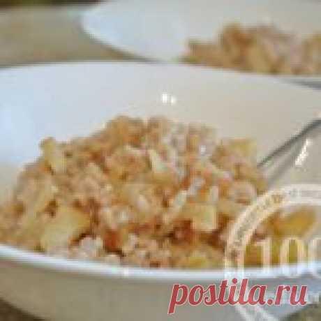 Нежная рисовая каша с яблоками в мультиварке - Каша в мультиварке от 1001 ЕДА
