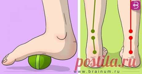 Эти 6 простых упражнений помогут вам избавиться от боли в ногах, коленях и бедрах - Brainum
