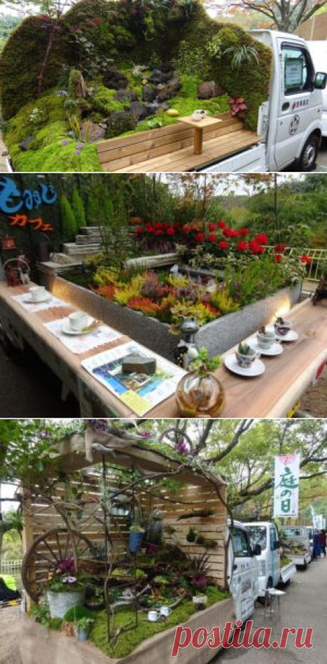 В Японии придумали крутые мобильные сады. Зачем им это нужно? — info boom