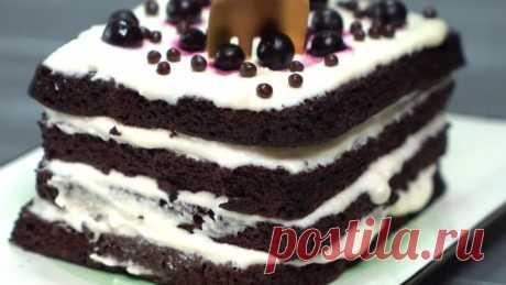 Торт В МИКРОВОЛНОВКЕ! Вкусный и сладкий десерт за короткое время!