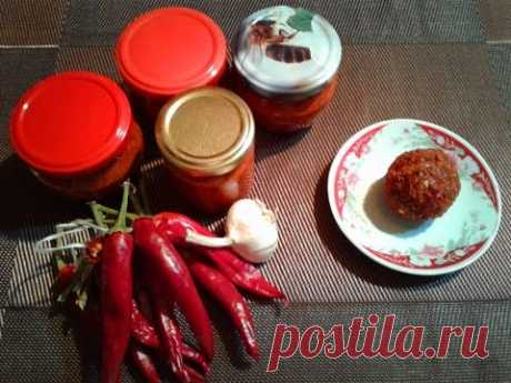 Абхазская аджика для гурманов / Abkhazian adjika dry gourmet