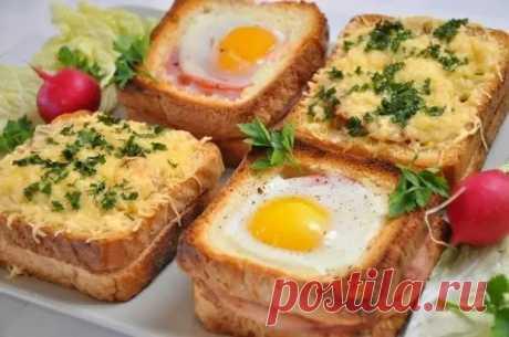 Потрясающие бутерброды к завтраку. Перед ними невозможно устоять! - Вкусняшка - медиаплатформа МирТесен