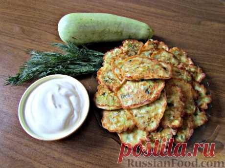 30 рецептов оладушек из кабачков