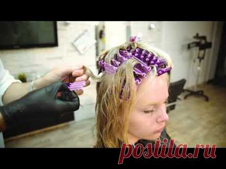 Прикорневой объем   /обучение / как сделать тонкие волосы объёмными у корня. Супер объем