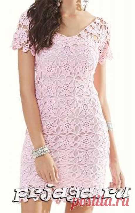 Summer dress hook of gentle color