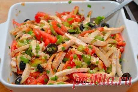 Салат из курицы - Кулинарный рецепт - Повар в доме