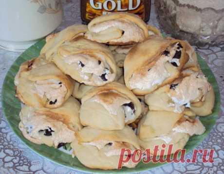 """Пирожные """"Ракушки"""" – кулинарный рецепт"""