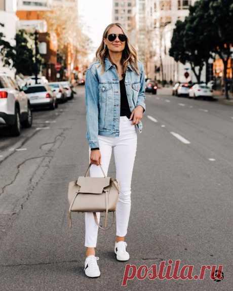 Стильные повседневные образы — Красота и мода