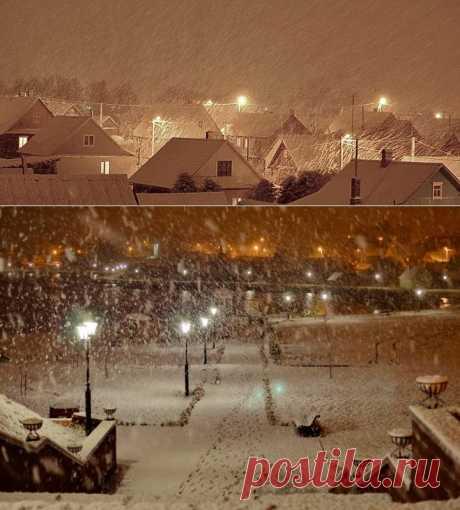 (+1) тема - Первый снег | Фотоискусство