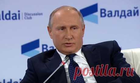 Путин о ядерном ударе: Мы, как мученики, попадем в рай, а они просто сдохнут | Новости в России и мире