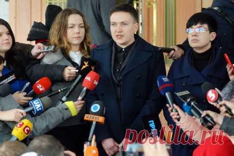 Савченко начала рассказывать неприятную правду о снайперах на Майдане