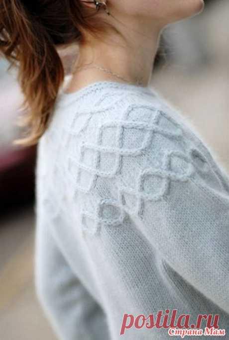 Пуловер Seneca от Jared Flood Brooklyntweed
