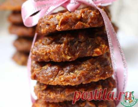 Морковное печенье на ржаной муке – кулинарный рецепт