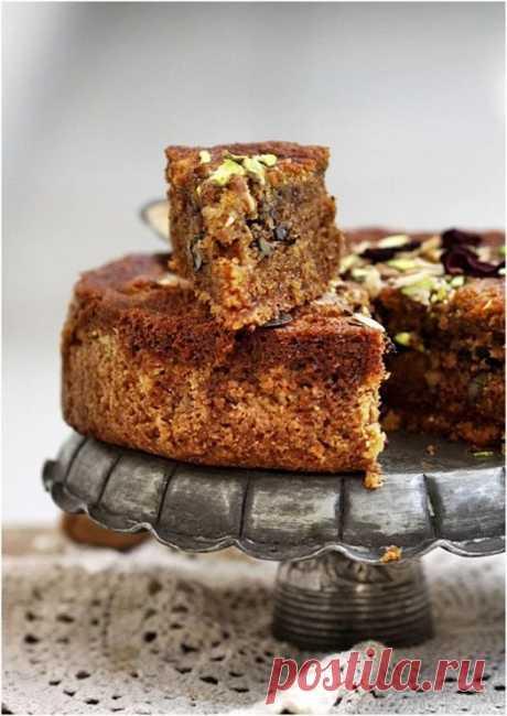 Армянский пирог с мускатным орехом.