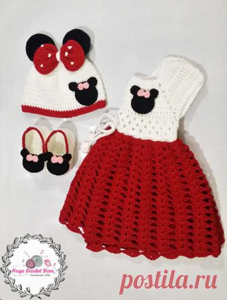 Mickey Minnie Mouse baby romper + Giveaway
