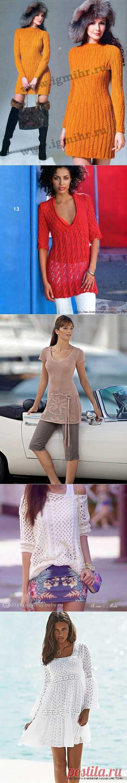 Dresses, tunics spokes. Selection