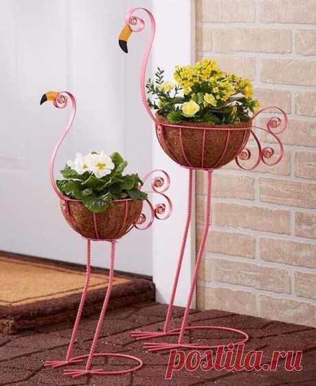 Идеи подставок для растений Каждый цветовод стремится сделать так, чтобы его домашний сад восхищал всех своей... Читай дальше на сайте. Жми подробнее ➡