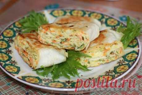 Хрустящая закуска из лаваша - 8 пошаговых фото в рецепте