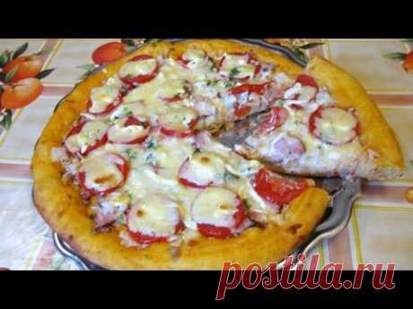 Вкусная пицца в домашних условиях рецепт фото