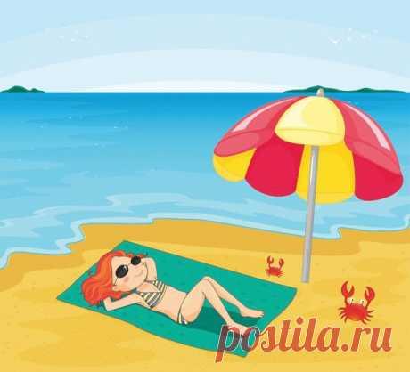 Летом хочется быть безработной, но с зарплатой 😊