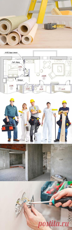 Хронология ремонта: в какой последовательности выполняются работы | Свежие идеи дизайна интерьеров, декора, архитектуры на InMyRoom.ru