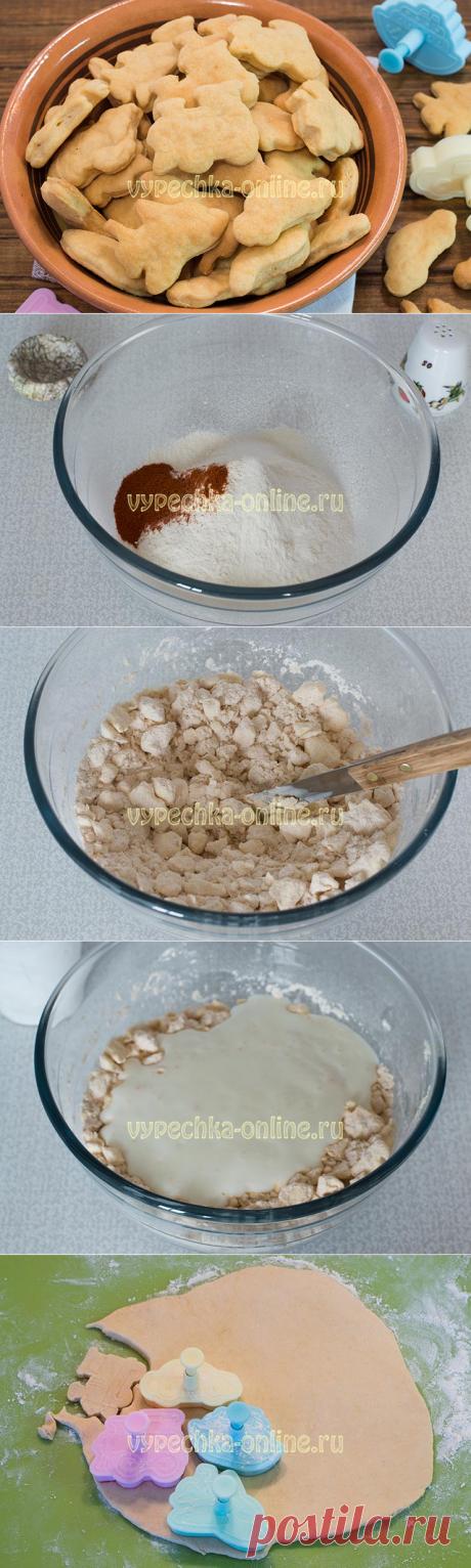 ✔️Печенье на кефире быстро и вкусно мягкое на скорую руку в духовке – рецепт с фото