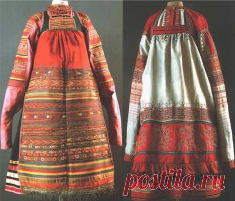 Русская рубаха — долгорукавка — магия единения с природой | МастерВеда