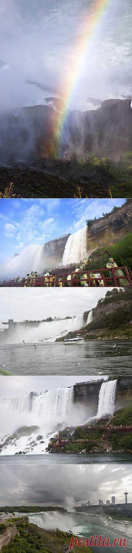 (+1) тема - Удивительные фотографии Ниагарского водопада   Улетные картинки