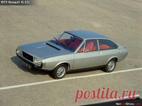 Renault 15 GTL 1979.