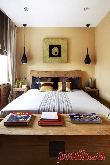 Как декорировать малогабаритную спальню   Наш уютный дом