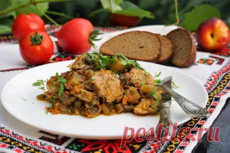 Рецепт овощного рагу в духовке. Рагу с картошкой и капустой