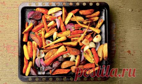 Овощи в духовке: как улучшить вкус привычных блюд | Men's Health | Яндекс Дзен