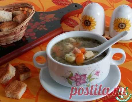 Суп с нежнейшими клецками – кулинарный рецепт