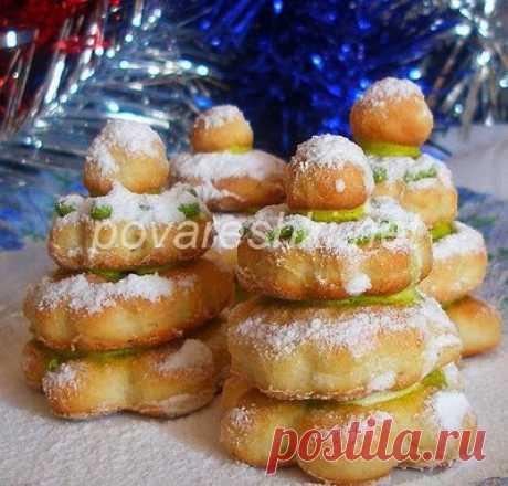 Мягкое печенье с крахмалом - Печенье