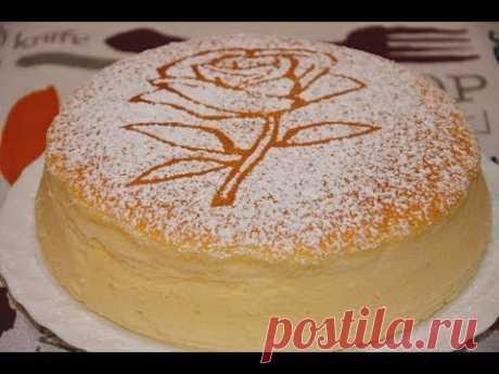 """ЯПОНСКИЙ """"Хлопковый"""" ЧИЗКЕЙК Невозможно Отказаться! ✧ Japanese Cheesecake ✧ Марьяна"""