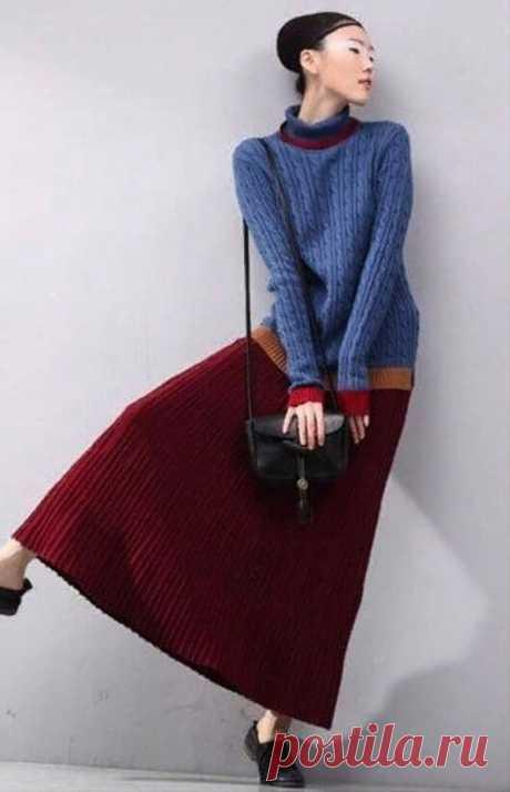 Японская версия болгарской юбки