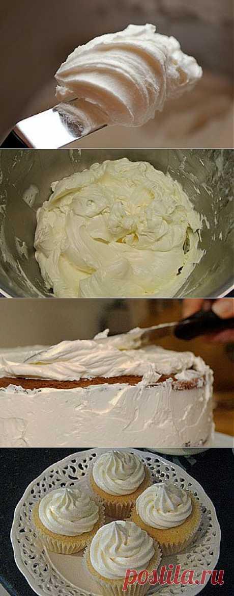 Белково-масляный крем