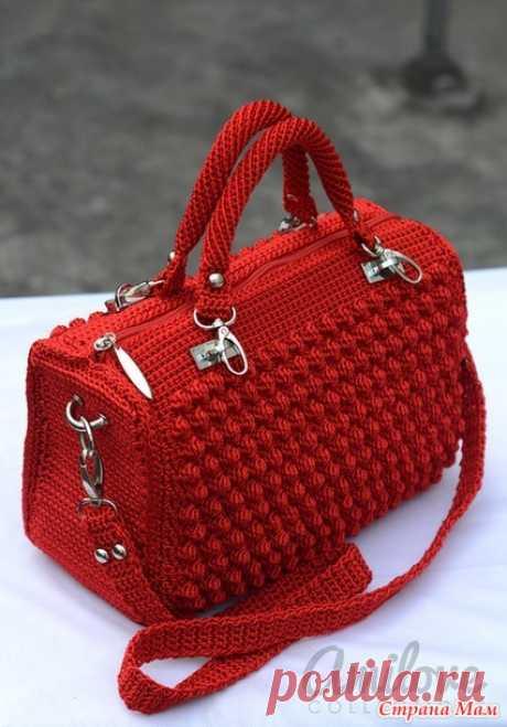 Красивая сумка крючком - Вязание - Страна Мам