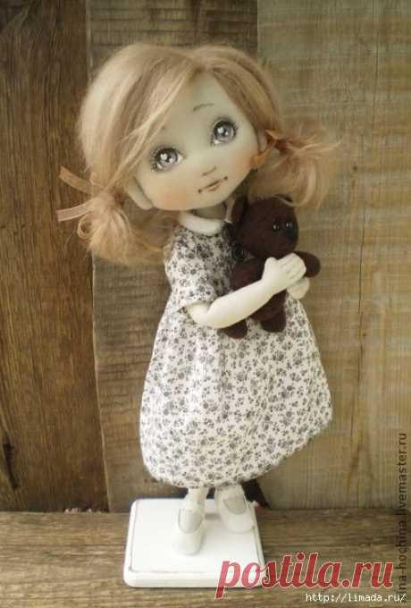 Куклы Ирины Хочиной + Выкройка | Подружки