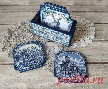 Кухонный набор Гжель – купить на Ярмарке Мастеров – MEGS8RU | Кухонные наборы, Москва