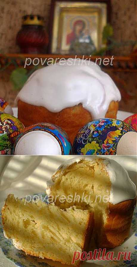 Easter cake orange (smetanny) - culinary recipes of the Scullion with a serving spoon