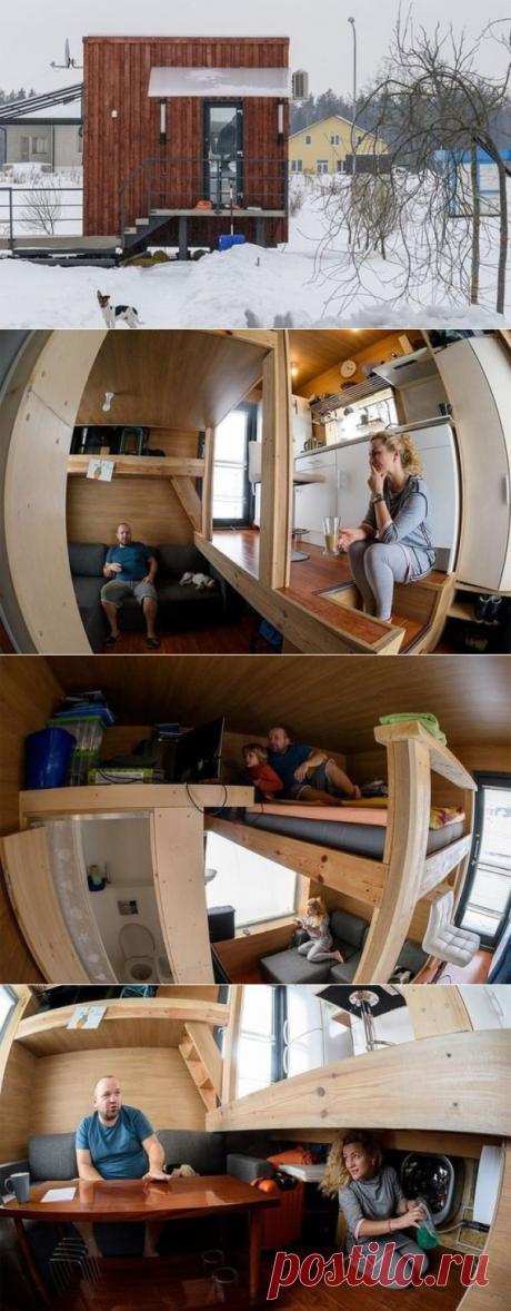С виду это просто маленький домик, но стоит лишь войти внутрь - Интересное