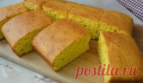 Простой рецепт. Сладкий пирог на скорую руку | КуЛИНАРИЯ | Яндекс Дзен